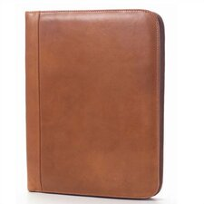Tuscan Zip Padfolio in Tan