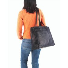 Colored Vachetta Luggage Tote Bag