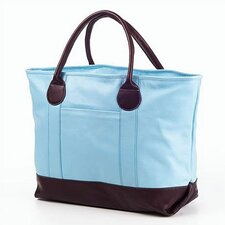 Colored Vachetta Nantucket Tote Bag