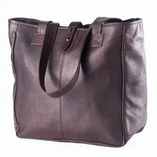 Vachetta Small Open Tab Tote in Café
