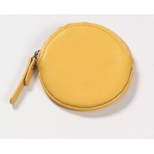 Round Coin Purse in Yellow