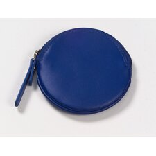 Round Coin Purse in Blue