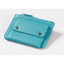 Coin Wallet in Aqua