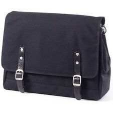 <strong>Clava Leather</strong> Canvas Messenger Bag