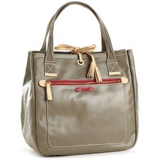 <strong>Clava Leather</strong> Carina Tassel Tote Bag