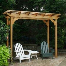 Cedar New Dawn 10' W x 4' D Pergola