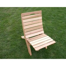 <strong>Creekvine Designs</strong> Cedar Furniture and Accessories Traveling Style Folding Beach Chair