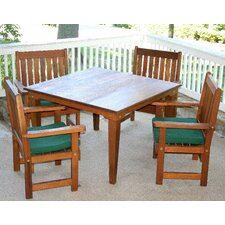 Cedar Get Together 5 Piece Dining Set