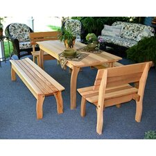 <strong>Creekvine Designs</strong> Cedar Gathering Dining Set