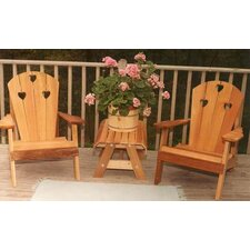 <strong>Creekvine Designs</strong> Cedar Country Hearts Adirondack Chair Collection