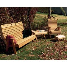 <strong>Creekvine Designs</strong> Cedar Twin Ponds Rocking Glider Chair Set