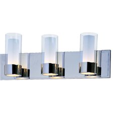 Chrome 3 Light Bath Vanity Light