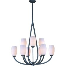 <strong>Taniya Nayak</strong> Rain Drop 9 Light Chandelier