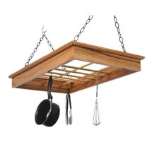 <strong>Laurel Highlands Woodshop</strong> Hanging Pot and Pan Rack