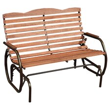 <strong>Jack Post</strong> Country Garden Steel Promo Glider Bench