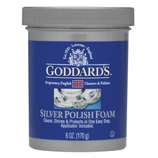 6 oz. Foam Silver Polish