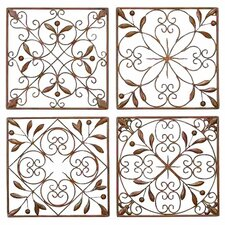 4 Piece Toscana Wall Décor Set (Set of 4)