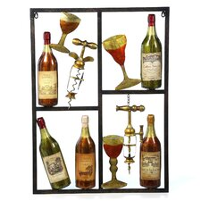 <strong>UMA Enterprises</strong> Waterfront Wine Wall Décor