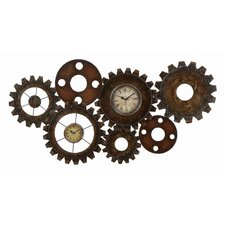 Cosmopolitian Gear Wall Clock