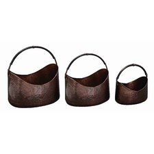 Loft Boat Shaped Metal Planters (Set of 3)