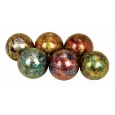 Urban Trends Ceramic Ball (Set of 6)