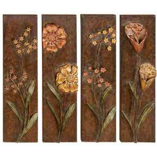 Toscana Assorted Metal Wall Décor Set (Set of 4)