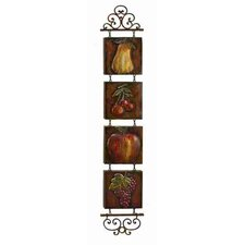 Toscana Metal Tile Wall Hanging