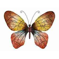 Rustic Metal Butterfly Wall Décor