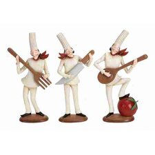 Loft 3 Piece Figurine Set