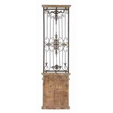 Toscana Metal Wood Wall Gate