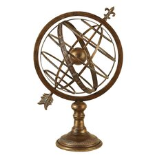 <strong>UMA Enterprises</strong> Toscana Armillary Sphere Sculpture