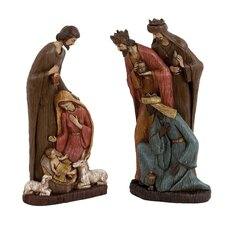 2 Piece Holy Family Figurine Set