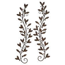 Loft Nature Lovers Metal Wall Décor (Set of 2)