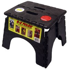 "9"" x 11.5"" EZ Folds Folding Step Stool in Black"
