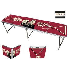 Comedic Vintage Beer Pong Table