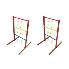 <strong>Red Cup Pong</strong> Ladder Toss Tailgate Game Set