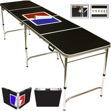 <strong>Red Cup Pong</strong> Sports Official Beer Pong Table in Standard Aluminum