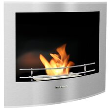 VioFlame Built-in Wall Mount Ethanol Fireplace
