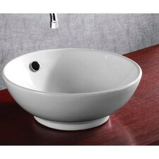 <strong>Caracalla</strong> Ceramica Round Bathroom Sink