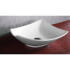 Ceramica Vessel Bathroom Sink