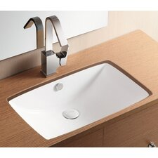 <strong>Caracalla</strong> Ceramica II Undermounted Bathroom Sink