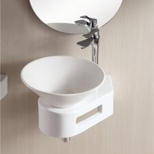 <strong>Caracalla</strong> Ceramica II Vessel Bathroom Sink with Thin Wall