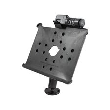 Flat Surface Mount with Locking Cradle for the Apple iPad and iPad 2