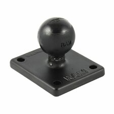 "2"" x 1.7"" Base with AMPs and 1"" Ball for the Garmin Zumo, TomTom Rider and Urban Rider"