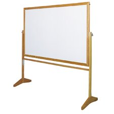 <strong>Claridge Products</strong> Premiere Wood Frame Reversible MLC Markerboard