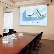 Aristocrat Matte White Electric Projector Screen