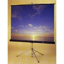 Perfecta Matt White Portable Projection Screen