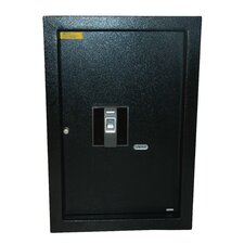 Biometric Hidden Wall Safe
