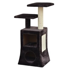 "40"" Abstract Design Multi Platformcat Cat Tree"