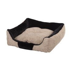 <strong>PetPals</strong> Plush Cuddler Bolster Dog Bed
